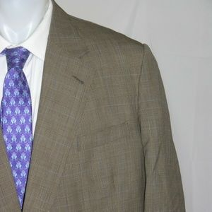 Dege & Skinner Savile Row Custom One Button Blazer